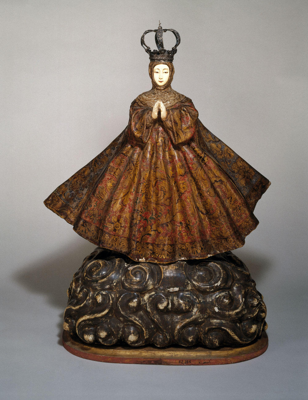 Virgin of the Immaculate Conception, probably 18th century. Brooklyn Museum, Frank L. Babbott Fund, 42.384.